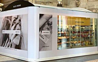 Il primo temporary store Alce Nero debutta in Stazione Centrale a Milano