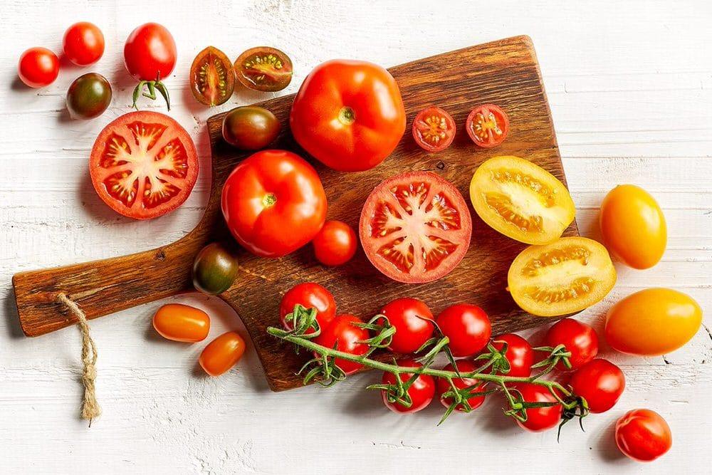 Pomodori in cucina: ricette pomodori alla coque e con farinata di ceci
