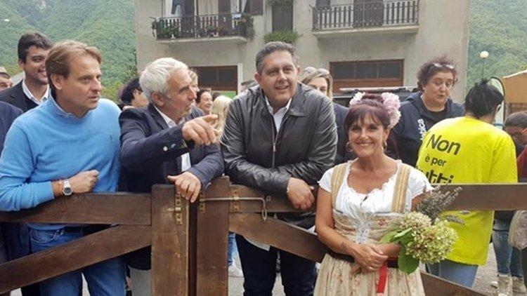 Grande successo a Mendatica per la Festa della Transumanza: l'intervista a Giovanni Toti