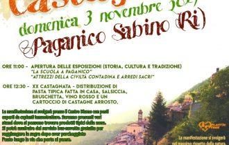 """A Paganico Sabino (RI) la tradizionale """"Castagnata"""" è plastic free – 3 novembre"""