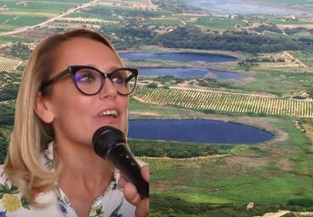 Clara Sala – Tenuta Gorghi Tondi, vino e olio Bio nell'oasi WWF  (Video)