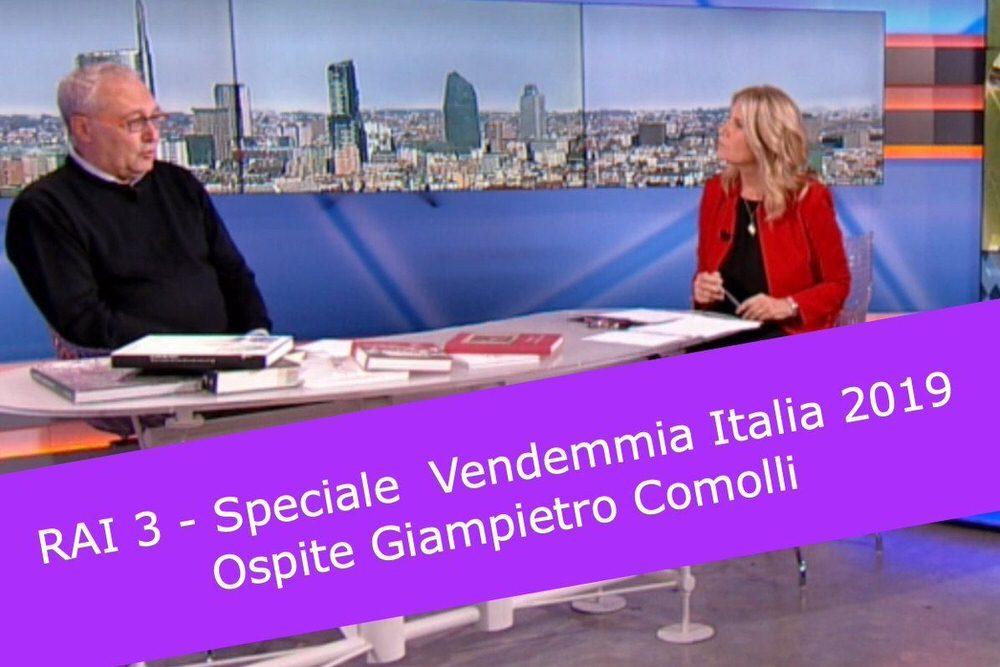 VENDEMMIA ITALIA 2019, CALO DEL 16-20% DI UVA – Comolli a RAI 3
