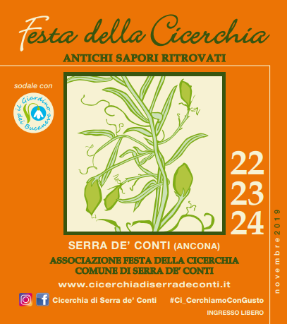 Serra de' Conti in festa per la cicerchia, regina dei legumi poveri – 22/24 novembre