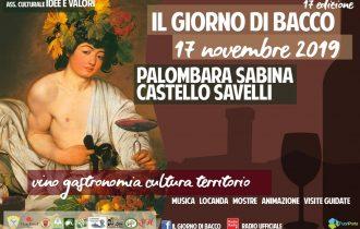 """Palombara Sabina, """"Il Giorno di Bacco"""" anima lo splendido Castello Savelli – 17 novembre"""