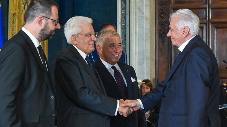 Luciano Rabboni Presidente e Fondatore di PreGel diventa Cavaliere del Lavoro