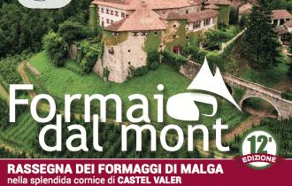 """""""Formai dal Mont"""", i formaggi di malga protagonisti a Tassullo (TN) – 26/27 ottobre"""