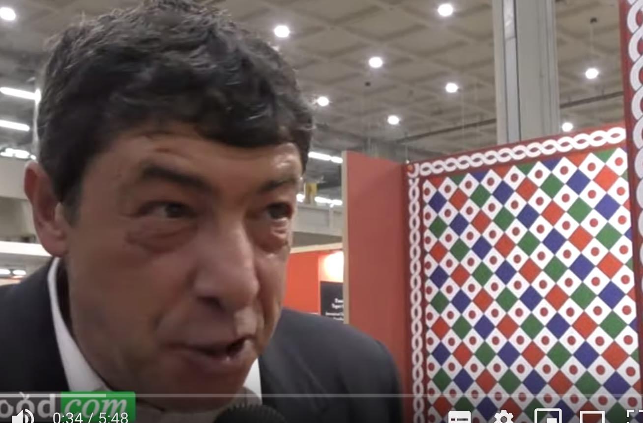 Il Panettone di  Nicola Fiasconaro  a Golosaria 2019 (Video)