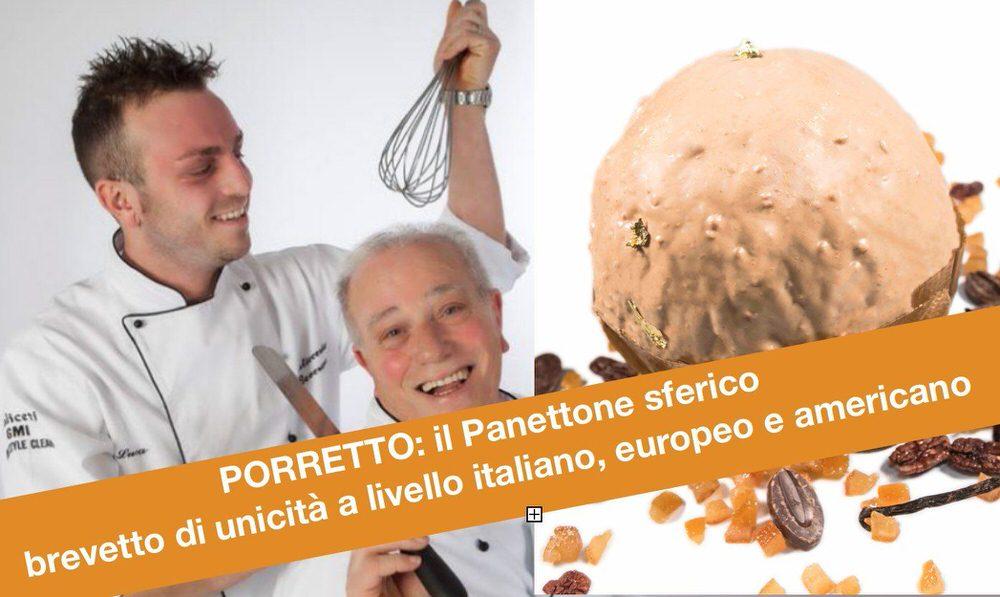 Luca Porretto: Mago delle torte ma anche mago del pallone panettone