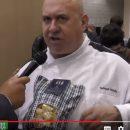 Raimondo Mendolia con la pasta mezze maniche al top uno.61 a Golosaria 2019 (Video)