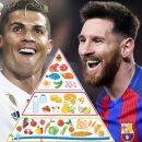 Ronaldo e Messi, campioni dalla dieta sana – il segreto del loro successo