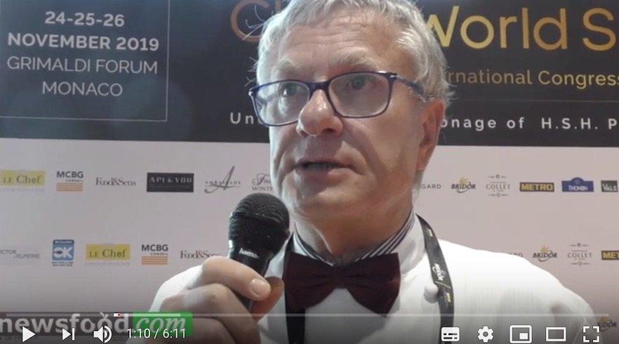 Bernard Fournier Chef, il Re del  Foie Gras al CWS – Montecarlo 2019 (Video)