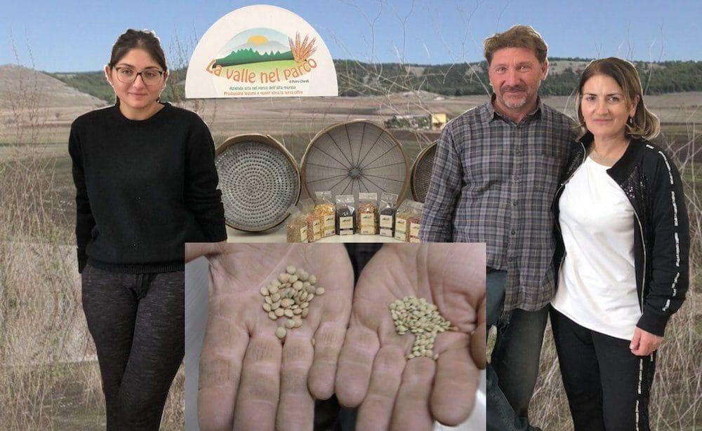 La Valle nel Parco, legumi e cereali dell'Alta Murgia della Famiglia Cifarelli (Video)