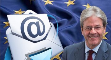 LETTERA A PAOLO GENTILONI PRESIDENTE DELLA COMMISSIONE ECONOMICA DELLA UE