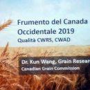Altamura: seminario AMC su raccolto grano canadese del 2019