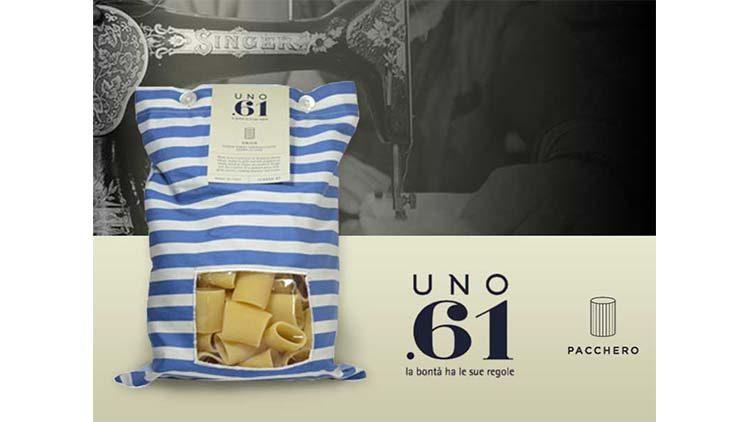 Pasta trafilata in oro, il food design di Uno.61