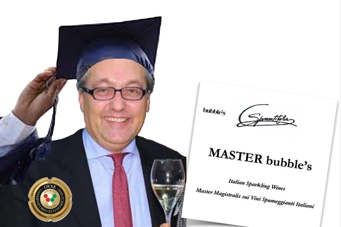 Primo Master Magistralis sui vini spumeggianti by Giampietro Comolli