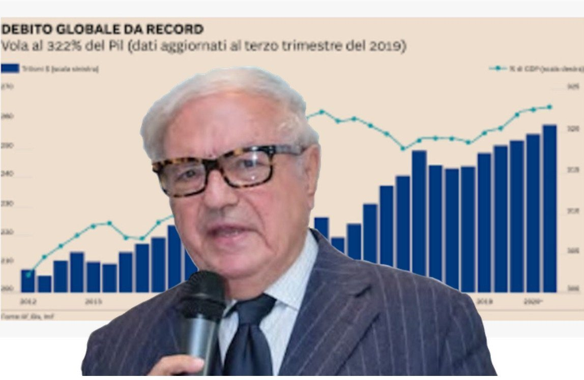 Debito mondiale a quota 253mila miliardi di dollari – ITALIA ARBITRA DELL'EQUILIBRIO MONDIALE