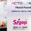 """Lo chef veneto Gregori Nalon il """"Cooking Strategist"""" al SIGEP di Rimini dal 18 al 22 gennaio 2020"""
