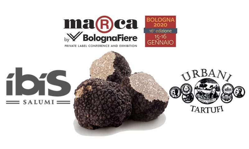 Novità a Marca, Bologna: sandwich Ibis Salumi con tartufo, in co-marketing con  Urbani Tartufi (Video)