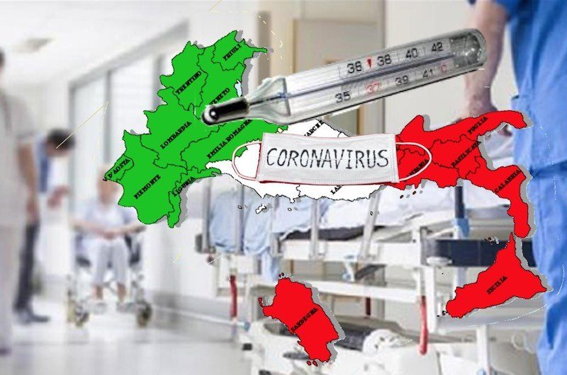 Economia Regionale Nazionale Italiana… … ha i sintomi del Coronavirus