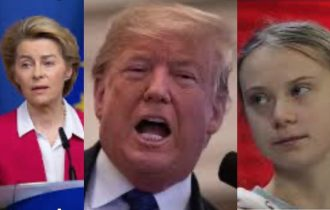 Europa green con Ursula e Greta insieme contro Trump per pulire il pianeta