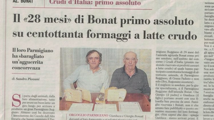 Bonat n° 1 del Parmigiano Reggiano