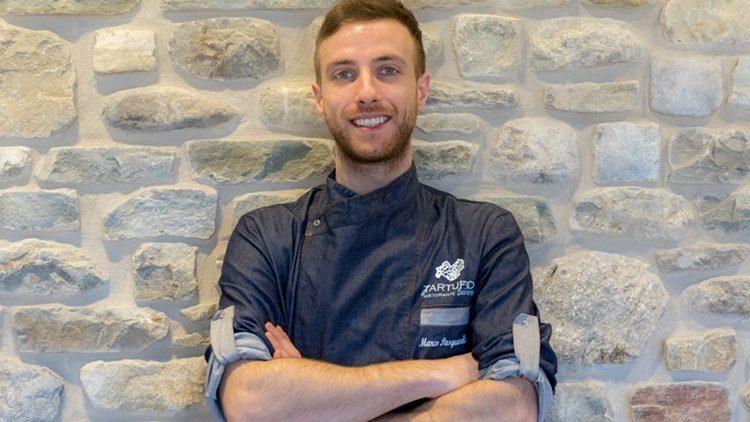 """Pasquarelli Chef del nuovo ristorante """"Il Tartufo"""" dell'albergo diffuso Borgotufi di Castel del Giudice"""