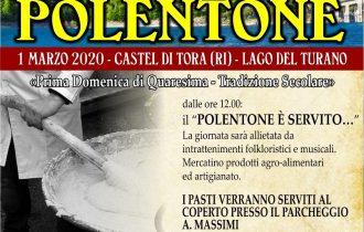 Castel di Tora (RI) apre le porte e propone il suo famoso polentone – 1 marzo