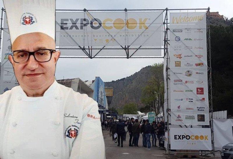 Salvatore Turturo, Chef presidente FIC Puglia all'ExpoCook a Palermo