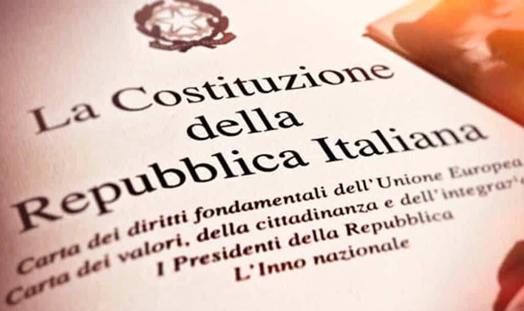 Post #Coronavirus: cambiare stile di vita, migliorare consumi nel rispetto dei diritti e doveri della  Costituzione della Repubblica Italiana