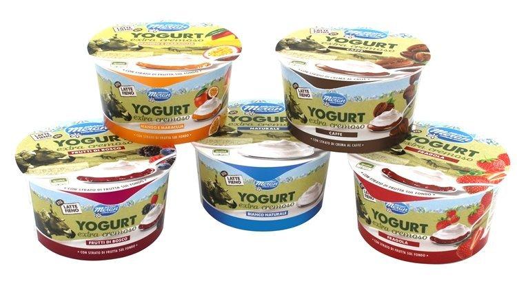 Latteria Merano, arriva lo Yogurt extra cremoso di Latte Fieno