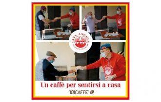 101CAFFE' per i City Angels: quando un caffè può scaldare molti cuori