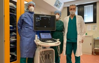 Gruppo Eurovo dona due ecografi all'Ospedale di Lugo e all'Ospedale di Trecenta