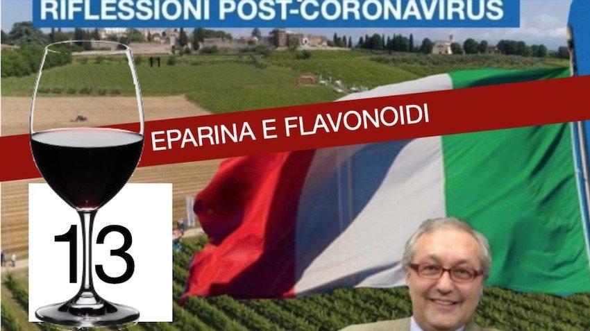 Eparina  e flavonoidi, Resveratrolo – Ricerca Italiana al lavoro…by Comolli