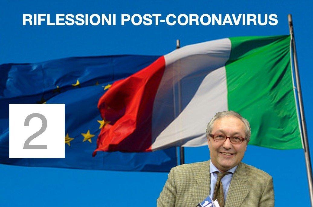 2 #POSTCORONAVIRUS: igiene, distanza, gregge by Comolli