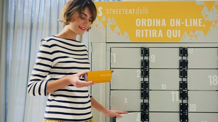 Nasce Delò, il locker refrigerato per la consegna di cibi pronti in sicurezza per la fase 2 del lockdown