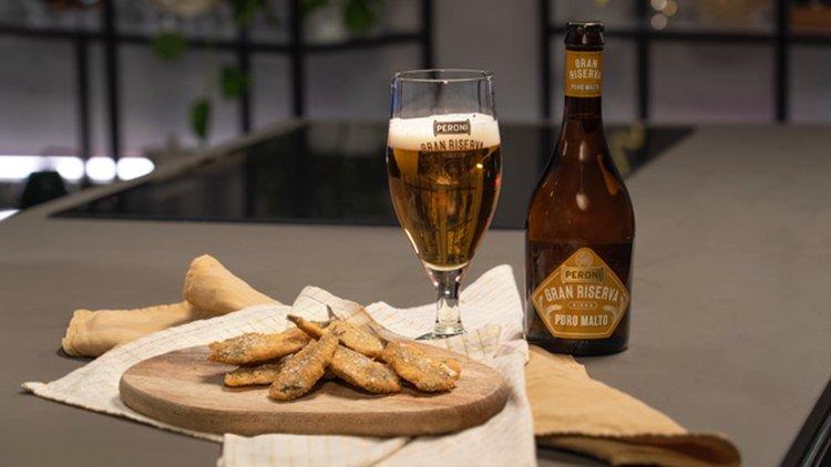 Il tempo di una birra. Nasce la collaborazione tra Birra Peroni e Chef in Camicia