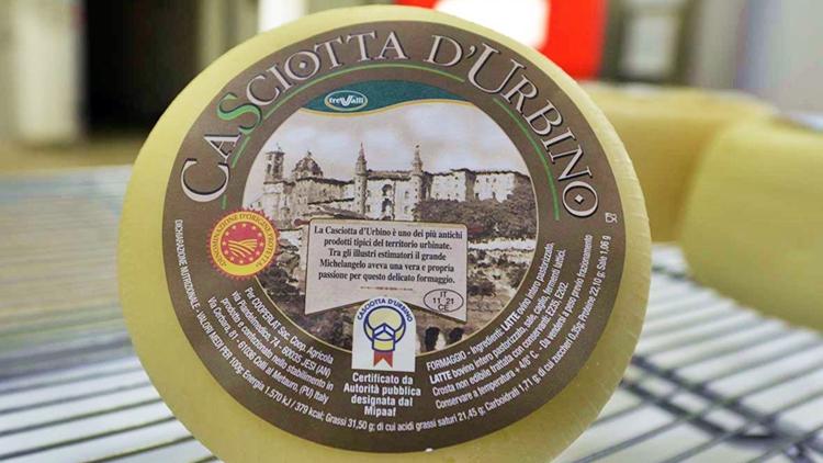 Casciotta d'Urbino Dop: una storia d'amore secolare