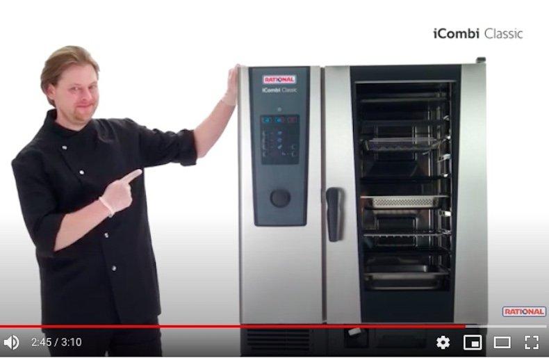 iCOMBI CLASSIC – Il nuovo forno a vapore combinato Rational
