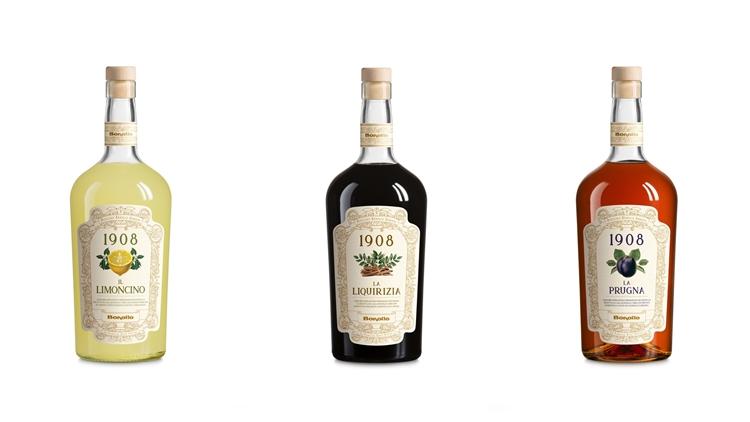 Liquori 1908 delle Distellerie Bonollo Umberto: buoni oggi come allora