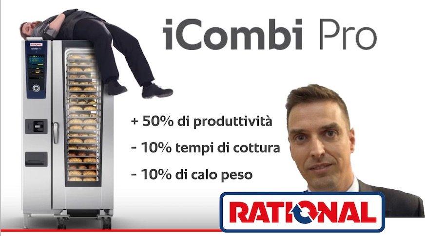iCombi Pro di Rational… THE BEST !  N° 1 per le cucine professionali – Video Lancio 6 maggio 2020