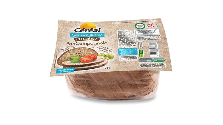 Il PanCampagnolo CÉRÉAL integrale senza glutine