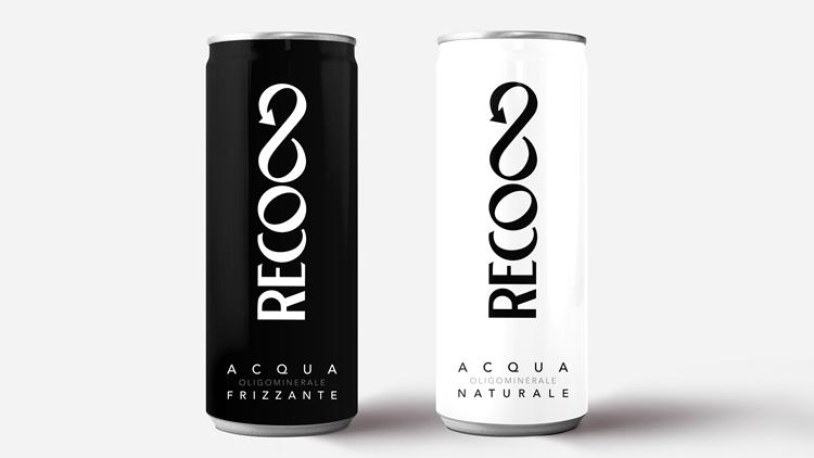 RECO∞, l'acqua minerale in lattina riciclabile all'infinito