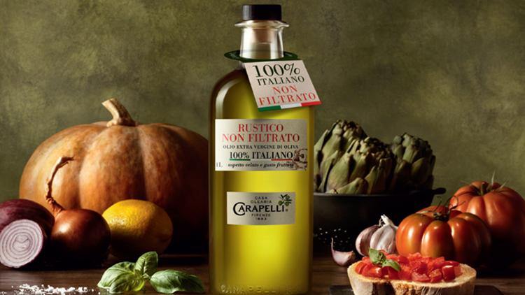 Carapelli Rustico Non Filtrato 100% Italiano: tutto il sapore della natura