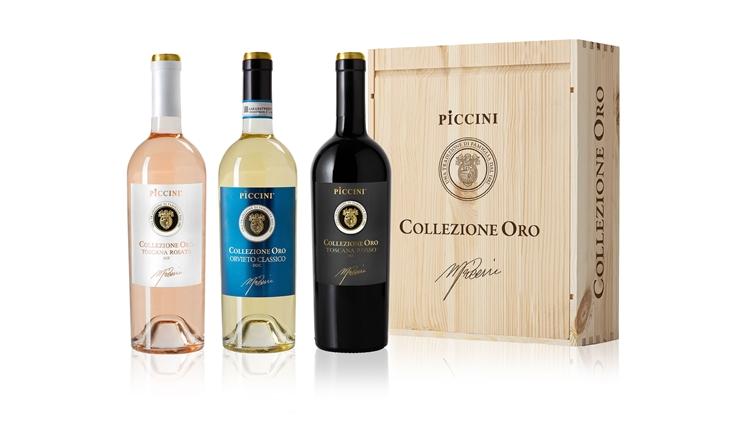 Tre nuovi vini Collezione Oro nati dalla collaborazione tra Mario Piccini e Riccardo Cotarella