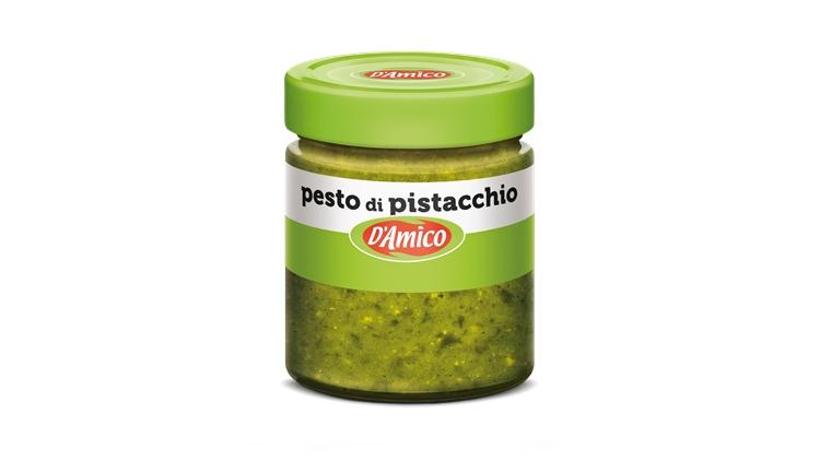 Pesto di Pistacchio: la nuova gustosa proposta D'Amico