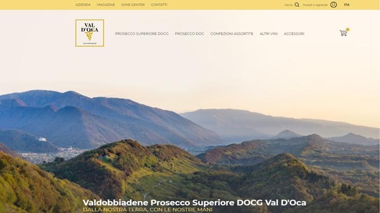 Nuovo e-commerce Val D'Oca: virtuale, di gusto