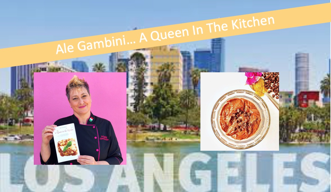 Ale Gambini… A Queen In The Kitchen