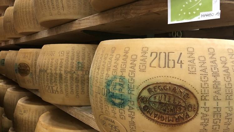 Il Parmigiano Reggiano BIO ha una marcia in più