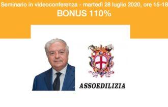 SUPERBONUS 110% E LE ALTRE AGEVOLAZIONI – Webinar di Assoedilizia